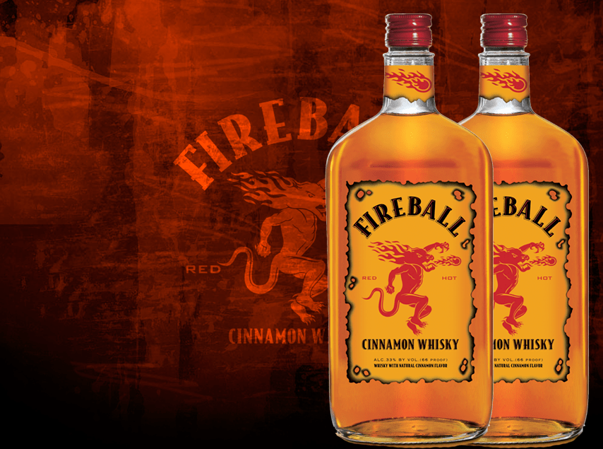 Fireball Whiskey Logo Images & Pictures - Becuo